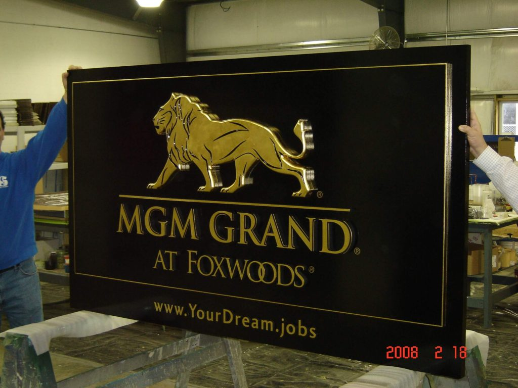 Routed Logos and Graphics